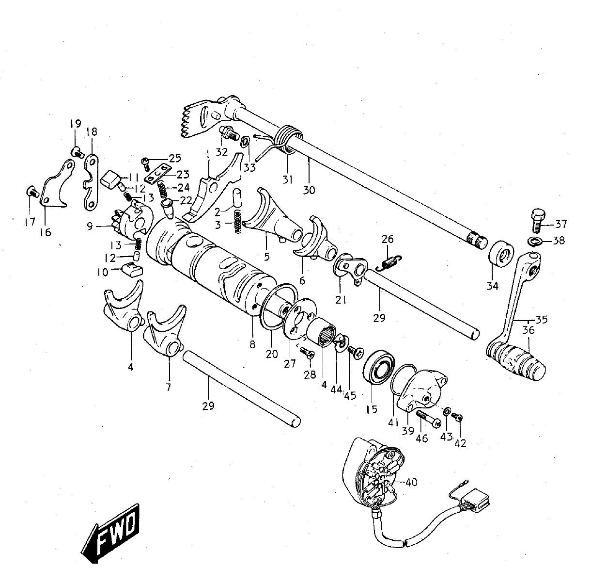 gt380 gear shifting  u2013 man cave  u0026 mc